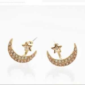 3FOR$15 Rose Gold Crescent Shaped Earrings
